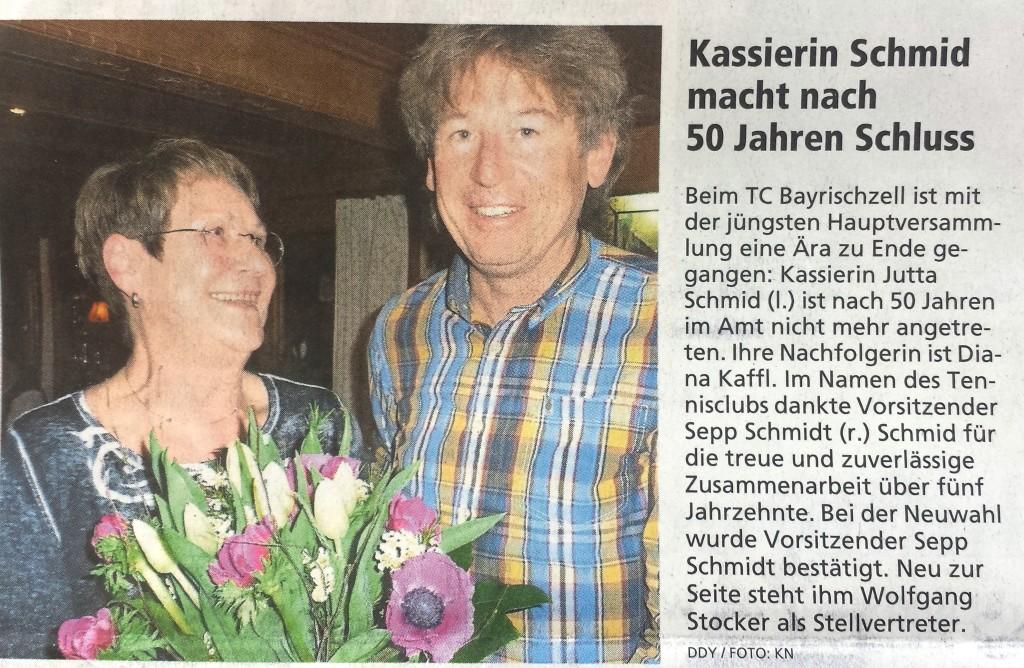 Jutta 50 Jahre