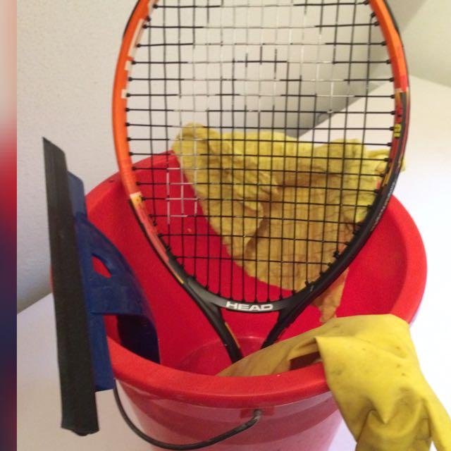 """""""Hausfrauen""""  ;-)) Tennistraining mit Mimo jeden Dienstag um 17 Uhr"""